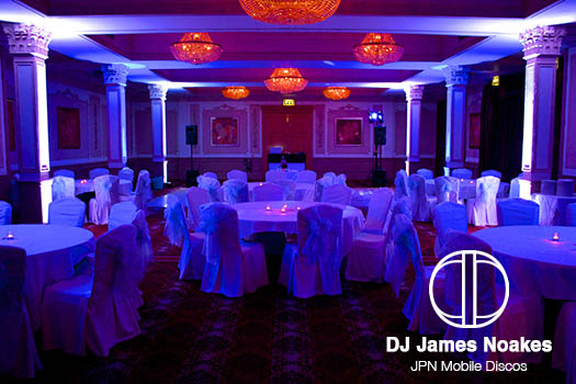 Mobile DJ Disco in Blue