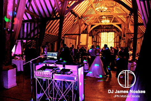 Wedding DJ at Bury Lodge Hotel, Stansted in Essex